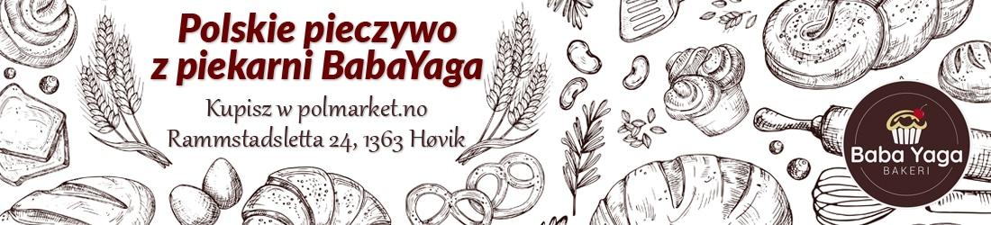 Polski chleb pieczywo z piekarni BabaYaga